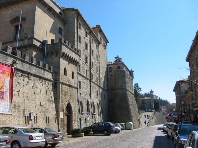 San Marino weg