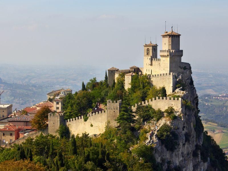San Marino fort