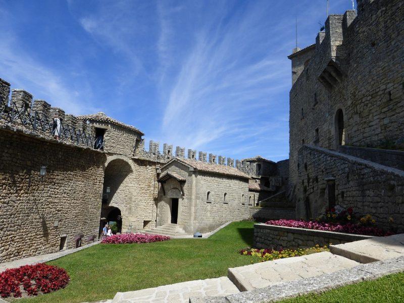 San marino kasteel