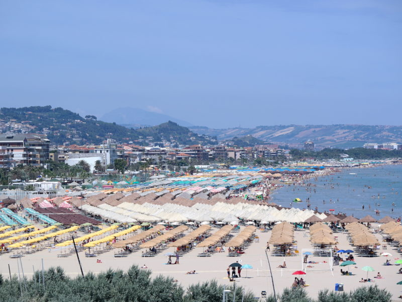 Pescara strand