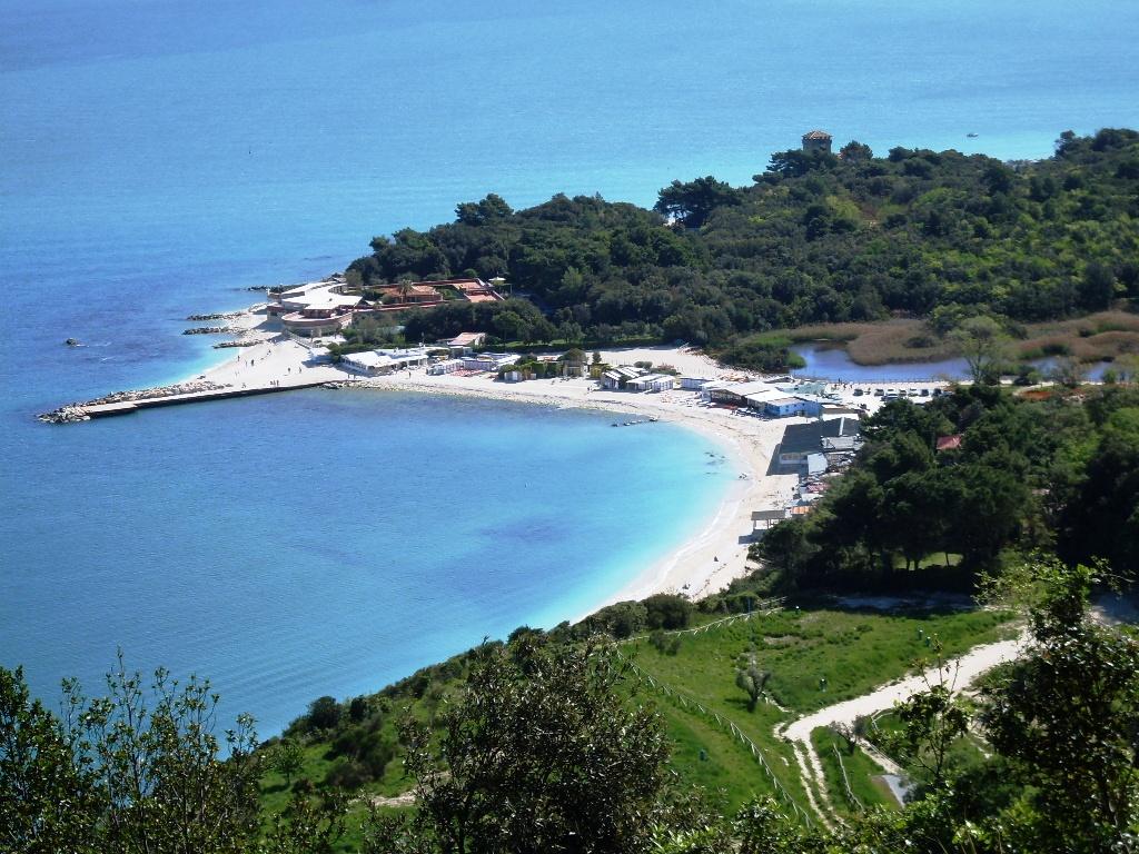Portonovo - Stranden van Le Marche