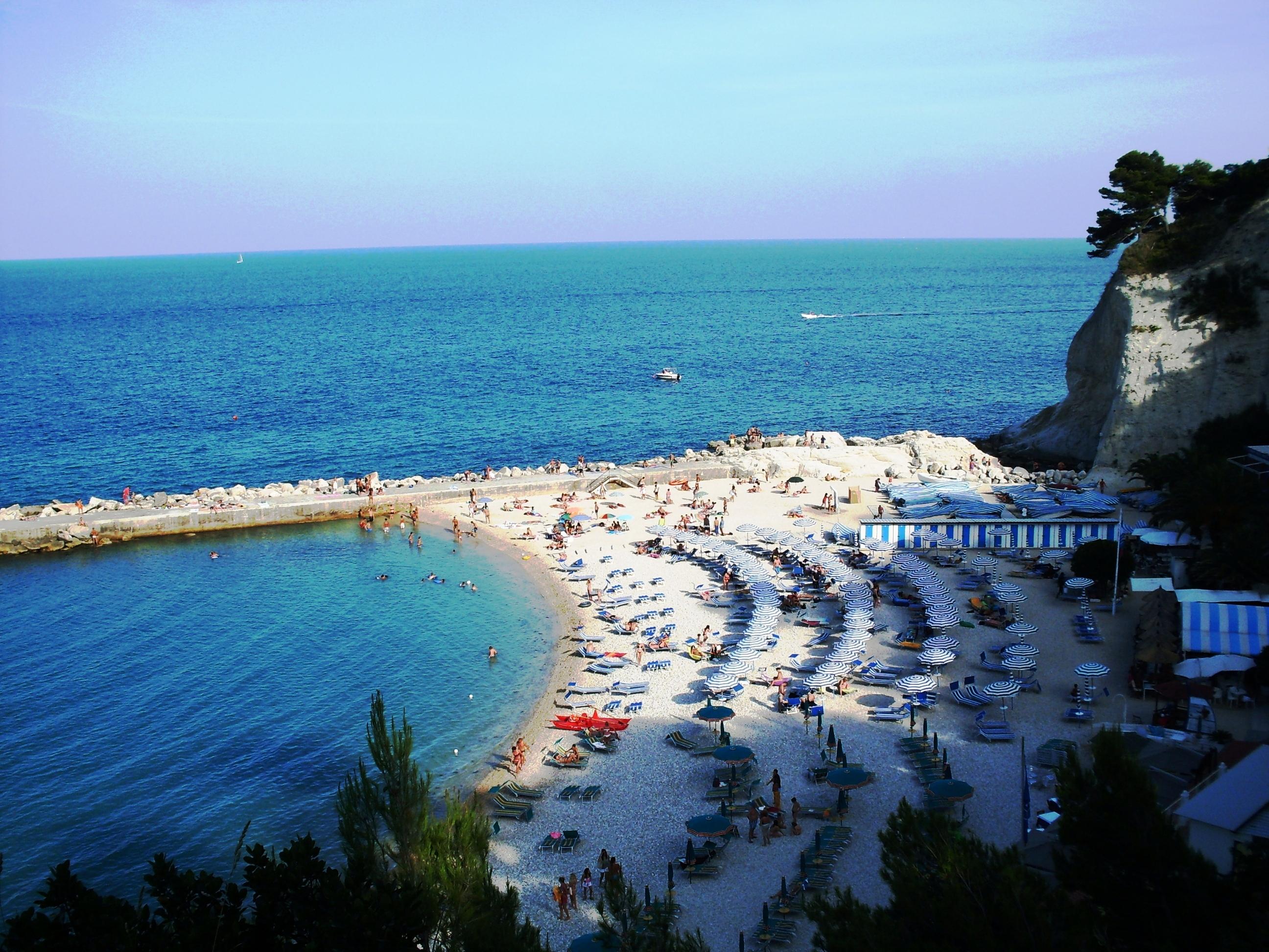 Sirolo - stranden van Le Marche