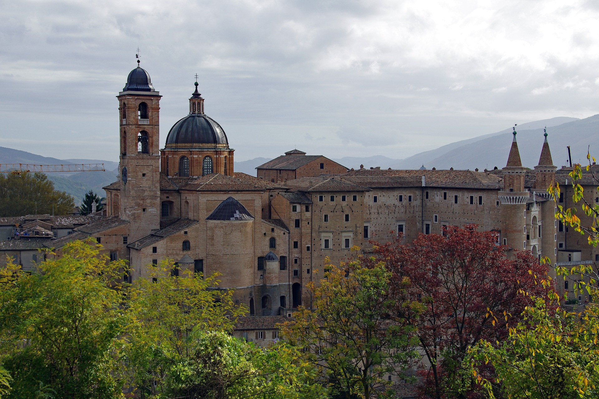 Palazzo Ducale - doen in Urbino
