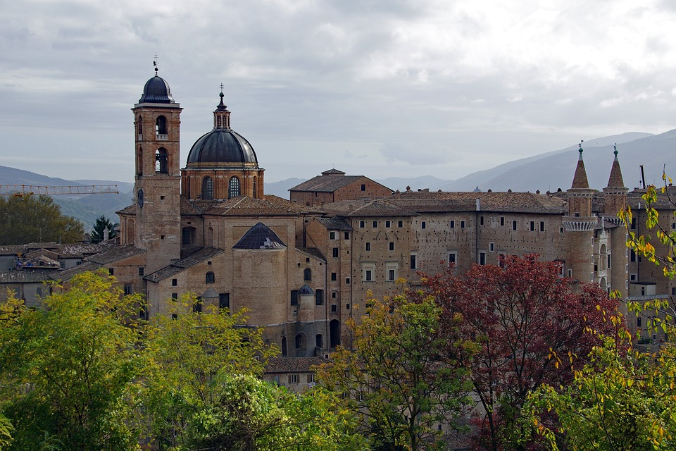 activiteiten in Urbino