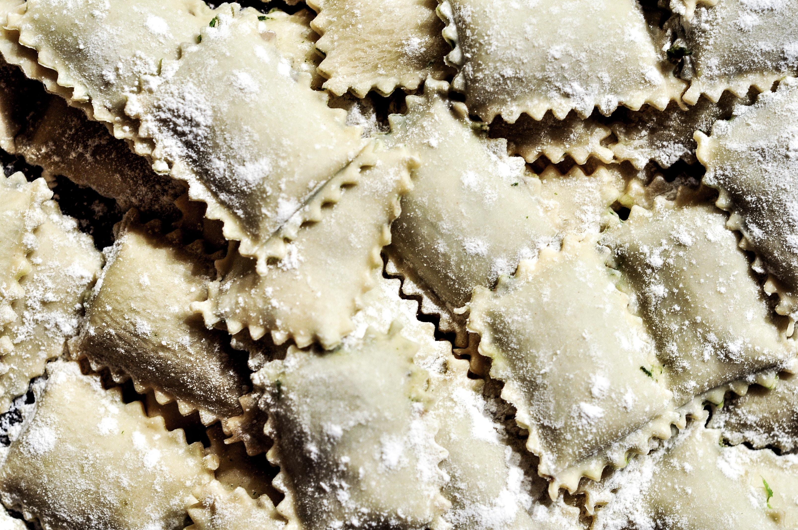 pasta maken op Littly Italy