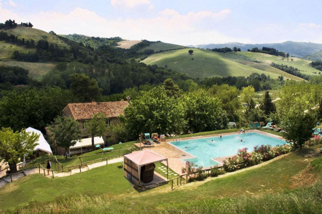 Foto van Podere Sei Poorte in de regio Le Marche in Italië